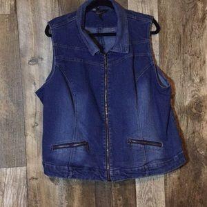3X Jean Vest